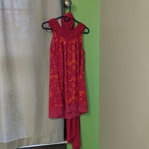 Cabi  tunic with matching scarf